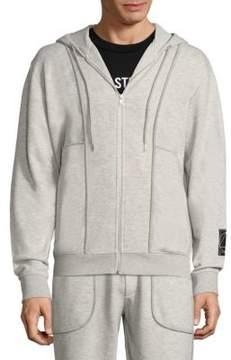 McQ Hooded Zip-front Jacket