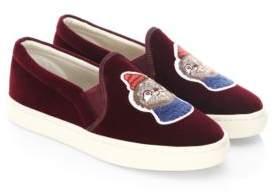 Soludos Velvet Sloth Sneakers