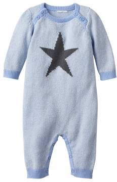 Cuddl Duds Baby Boy Star Sweater Coverall