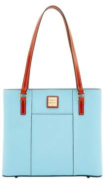 Dooney & Bourke Pebble Grain Small Lexington Shopper Bag - CARIBBEAN BLUE - STYLE