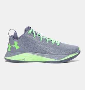 Under Armour Boys' Grade School UA Fireshot Low Basketball Shoes