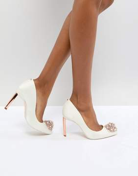 Ted Baker Tie The Knot Peetch Embellished Bridal Shoes