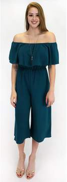 Everly Cool Your Coulettes Jumpsuit