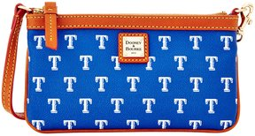 Dooney & Bourke MLB Collection Texas Rangers Large Slim Wristlet - BLUE - STYLE