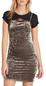 Billabong Women's Mystic Dream Velvet Body-Con Dress