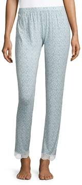 Eberjey Women's Printed Slim Pants