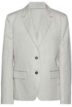 Jil Sander Linen And Cotton-Blend Blazer