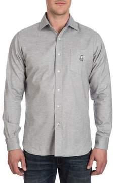 Psycho Bunny Men's Flannel Sport Shirt
