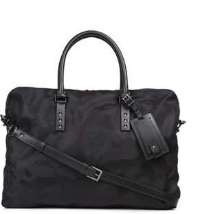 Valentino Men's Black Polyamide Briefcase.