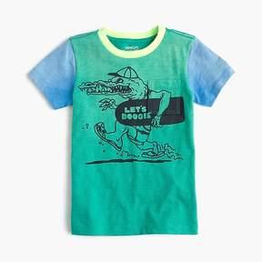J.Crew Boys' colorblocked boogie gator T-shirt