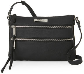 Kenneth Cole Reaction Black Fulton Mid Crossbody