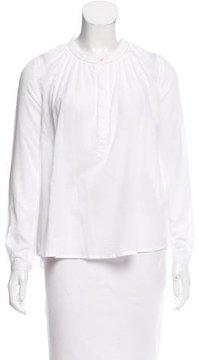 Chinti and Parker Lace-Trimmed Long Sleeve Top w/ Tags