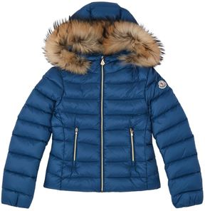 Moncler Solaire Fur Hood Jacket (4 Years - 6 Years)
