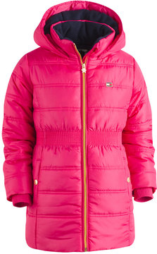 Tommy Hilfiger Hooded Quilted Puffer Coat, Big Girls (7-16)