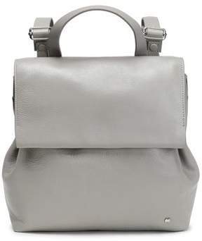 Halston Leather Backpack