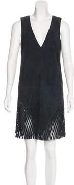 Dion Lee Suede Mini Dress