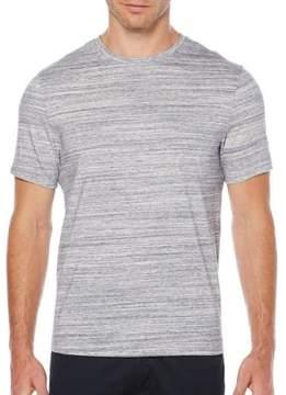 Perry Ellis Cotton Space-Dye Button-Down Shirt
