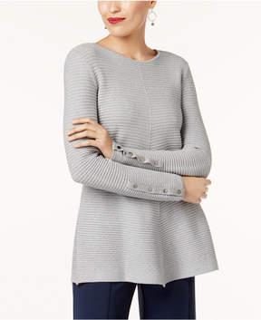 Alfani Metallic Swing Sweater, Created for Macy's