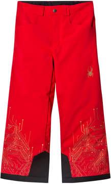 Spyder Red Iron Man Marvel Hero Junior Ski Pants