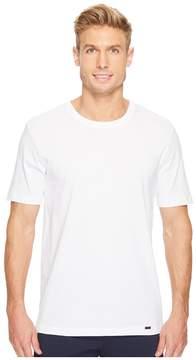 Hanro Living Short Sleeve Crew Neck Shirt Men's T Shirt