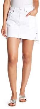 One Teaspoon White Mini Skirt