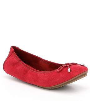 Me Too Halle Suede Bow Flats