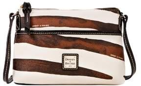 Dooney & Bourke Serengeti Ginger Crossbody Shoulder Bag - ZEBRA BLACK - STYLE