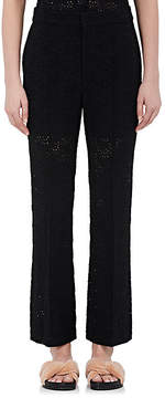Chloé Women's Eyelet Crop Trousers