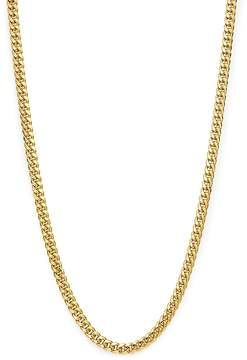 Bloomingdale's Men's Classic Curb Chain Necklace in 14K Yellow Gold, 24 - 100% Exclusive