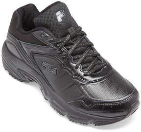 Fila Memory Runtronic Slip-Resistant Womens Work Shoes