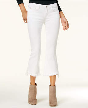 Dollhouse Juniors' Cropped Kick-Flare Jeans