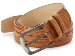 Mezlan Iguana Leather Belt