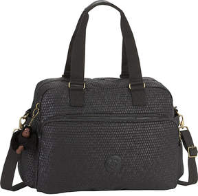 Kipling July nylon holdall - BLACK SCALE EMB - STYLE