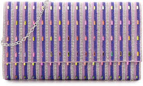 Nina Ellery Clutch -Purple/Iridescent - Women's