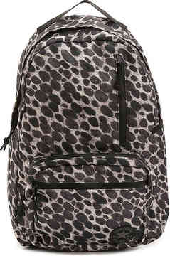 Women's Chuck Taylor All Star Go Backpack -White/Black Leopard