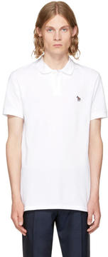 Paul Smith White Zebra Polo