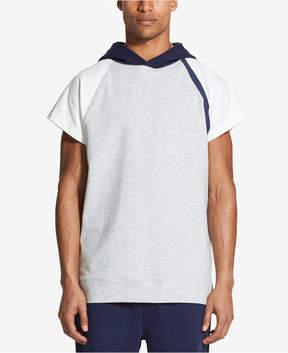 DKNY Men's Colorblocked Hooded Raglan-Sleeve T-Shirt