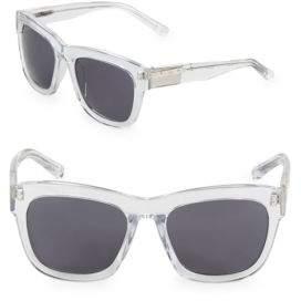 Linda Farrow Luxe 56MM Wayfarer Sunglasses