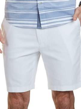Nautica Classic Fit Cotton-Linen Blend Shorts
