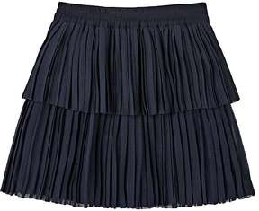 Little Remix SEA SHELL PLEATED CREPE SKIRT
