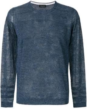 Roberto Collina sheer mesh sweater