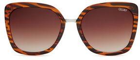 Quay **capricorn tortoiseshell sunglasses