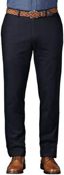 Charles Tyrwhitt Navy Extra Slim Fit Flat Front Cotton Chino Pants Size W30 L30