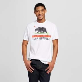 Awake Men's San Diego Surf Republic T-Shirt - White