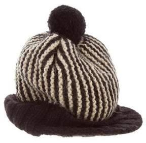 Paul Smith Wool Pom-Pom Hat