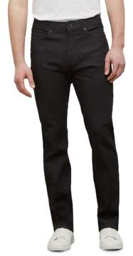 Kenneth Cole New York Straight Leg Black Wash Jean - Men's