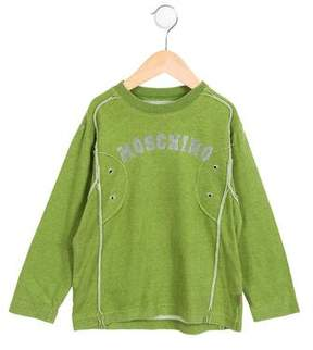 Moschino Boys' Logo Printed Shirt