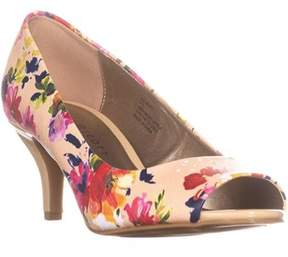 Karen Scott Ks35 Mory Peep Toe Pump Heels, Rose Multi.