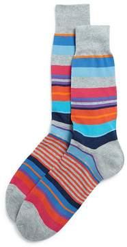 Bloomingdale's The Men's Store at Multi-Stripe Socks - 100% Exclusive