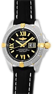 Breitling Galactic B49350 Stainless Steel and 18K Yellow Gold 41mm Mens Watch